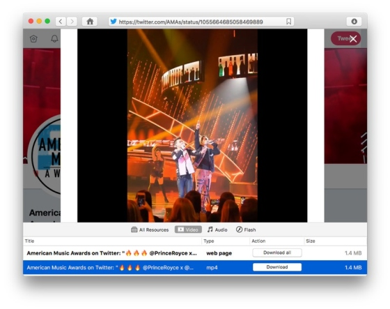 VideoDuke is simply the best way to download Twitter videos on Mac.
